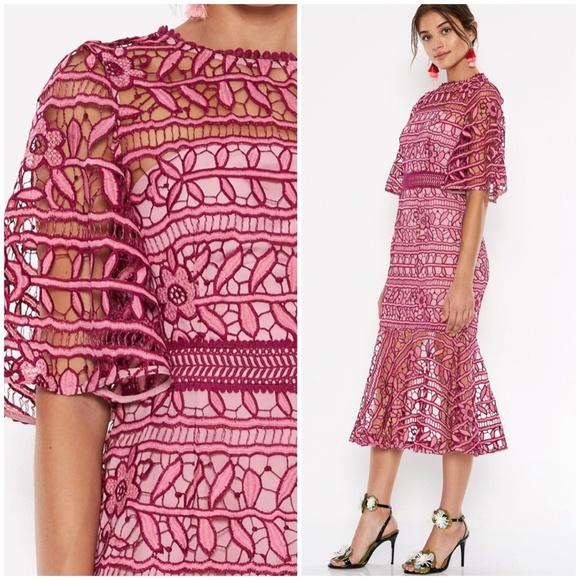 b40e3236a8f5 TALULAH Dresses | La Maison Caprice Midi Dress | Poshmark